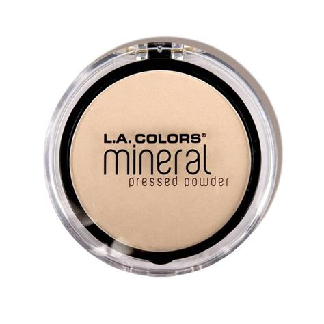 Colour Pressed Powder Diskon Gede mineral pressed powder cmp301 light ivory l a colors