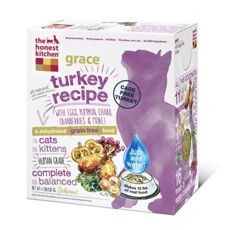 the honest kitchen grace grain free dehydrated cat food
