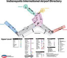 image gallery indianapolis airport concourse map