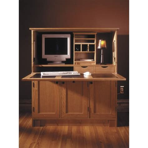 Hideaway Laptop Desk Wood Laptop Stand Plan Home Office Hideaway Computer Desk Downloadable Woodworking Plan