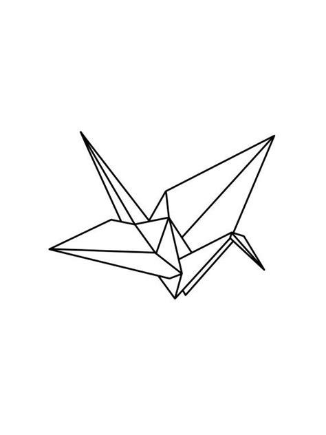Origami Crane Drawing - origami crane drawing buscar con ddd
