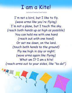 kite action rhyme  preschool preschool powol