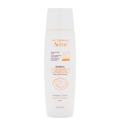 avene eau thermale ultra light hydrating sunscreen lotion eau thermale avene mineral light hydrating sunscreen