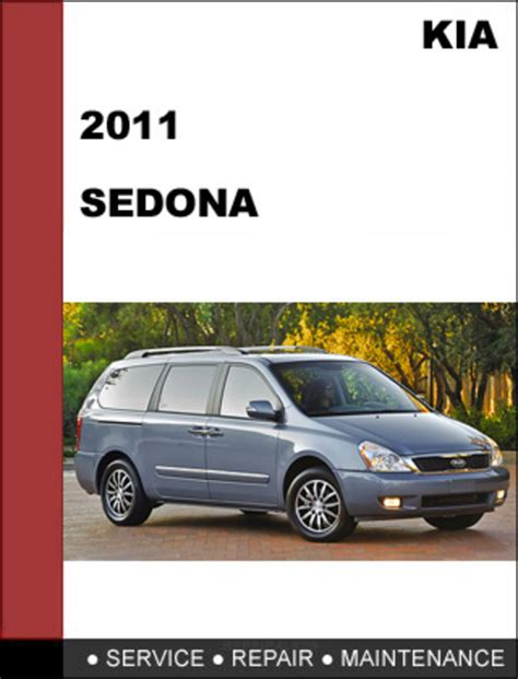 kia sedona 2011 factory service repair manual download download m
