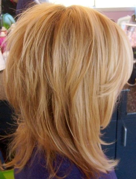 mid length layered hairstyle with box layers and curls 14 trendy medium layered hairstyles pretty designs