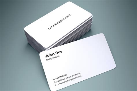 4 side free psd business card templates actions free business card mockup 2 uxfree