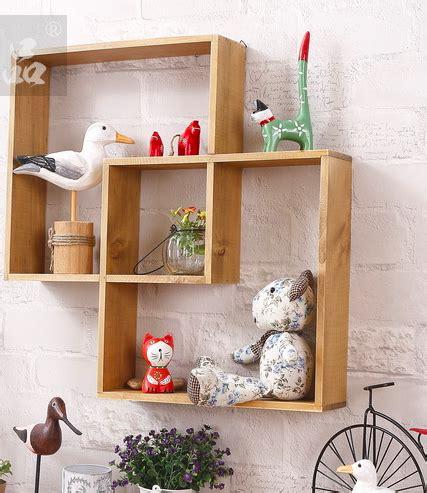 Picbox Hiasan Dinding Pajangan Rumah 1 aliexpress beli kayu solid penyimpanan rak hiasan