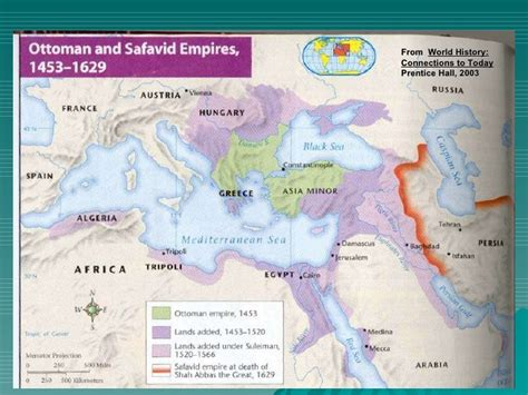 Prentice Historical Outline Map 71 by The Byzantine Empire