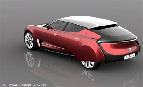 Citroen Concept Cars by Citroen Ds Revival Concept Car By Jean Louis Bui Tuvie