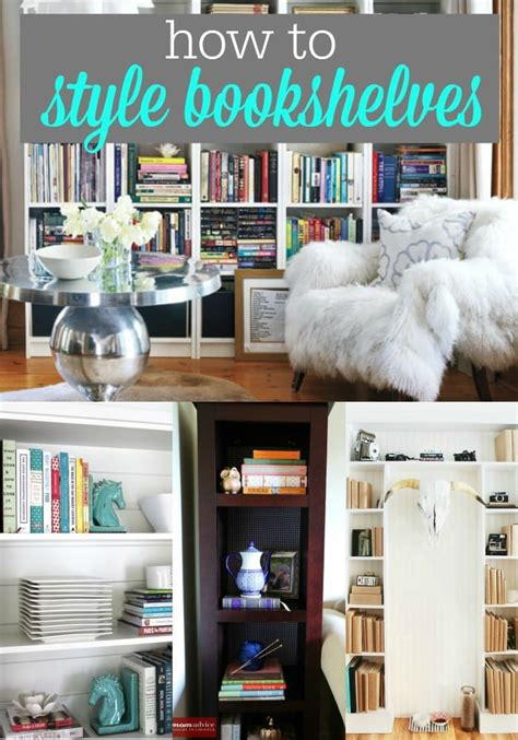 how to style a bookcase bookshelf styling 171 momadvice