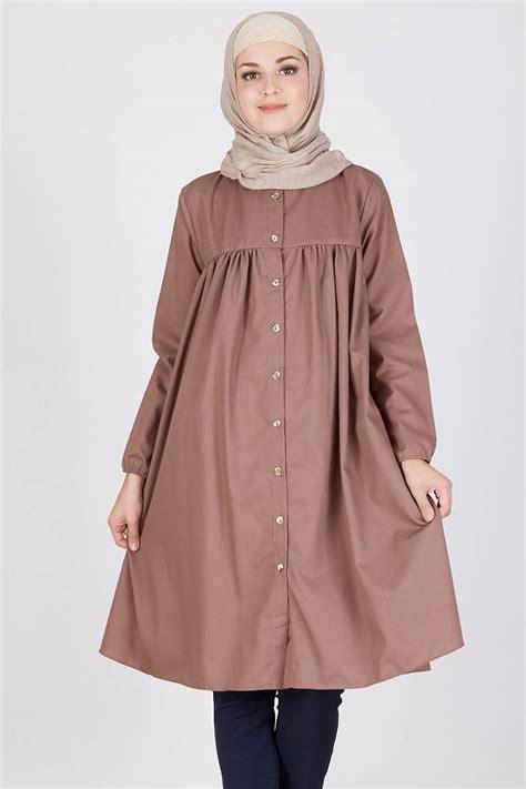 Tunik Muslimah H 3016 sell syaheera blaire tunik milo tops hijabenka