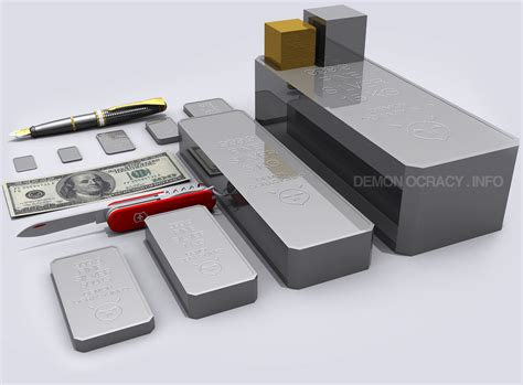 1 Ounce Silver Bar Size by Silver Visualized In Bullion Bars