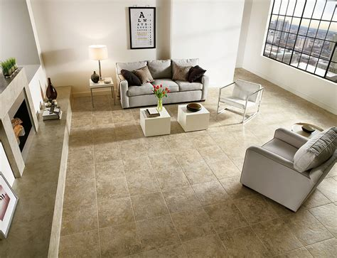 tile floor ideas for living room armstrong luxury vinyl tile flooring lvt tan tile