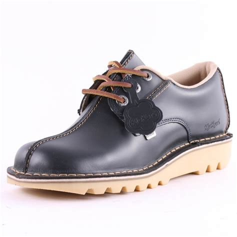 Kickers Neadle Casual Blue kickers kick mens casual shoes in blue