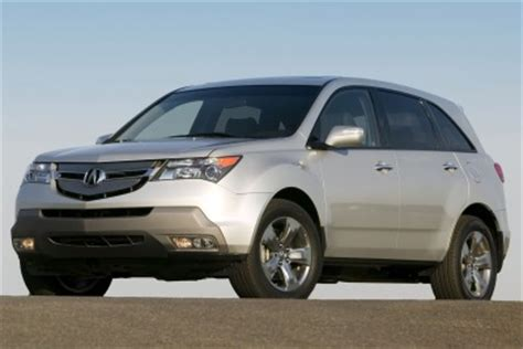 2007 acura mdx mpg used 2007 acura mdx suv pricing features edmunds