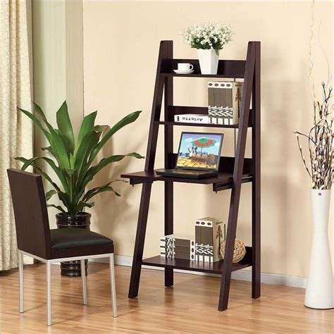 Ladder Desk by Ladder Desk Simple Solution For Workstation As Well