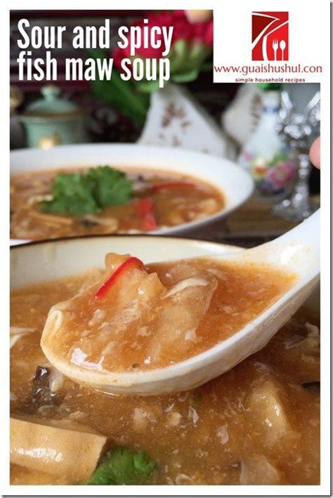 new year fish maw soup recipe 1000 images about guai shu shu recipes on