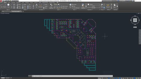 Floor Plan With Scale by A First Look At Autocad 2018 Cadd Microsystems Blog