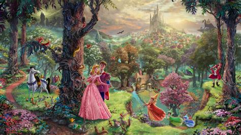 Wizard Of Oz Wall Mural thomas kinkade castle
