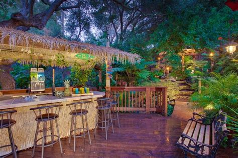 hawaiian themed backyard 50 best images about tiki bars on pinterest backyards bar and outdoor tiki bar