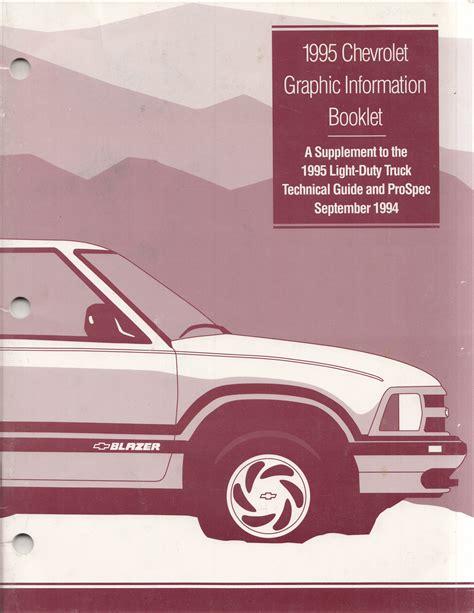 auto repair manual online 1995 chevrolet astro parental controls 1995 chevrolet astro van and gmc safari repair shop manual original set