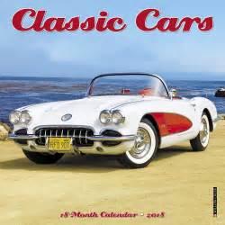 Calendar 2018 Cars Classic Cars 2018 Mini Wall Calendar 9781682347553