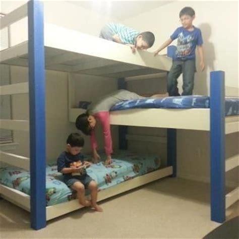 custom bunk bed custom bunk beds by mikes custom woodwork