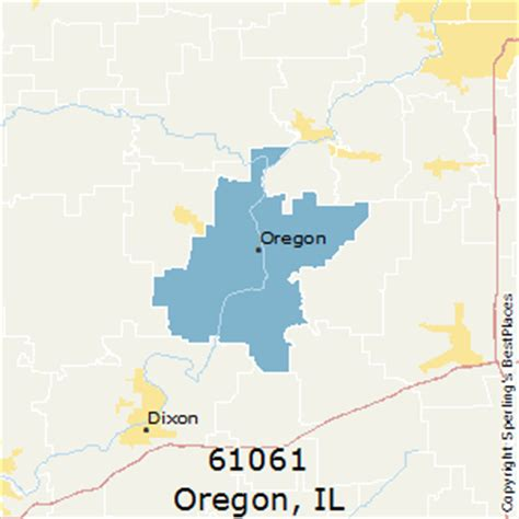 map of oregon illinois best places to live in oregon zip 61061 illinois