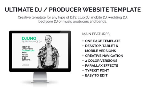 djuno ultimate dj producer muse template by