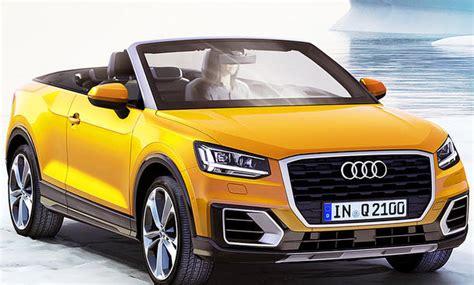 Audi Q2 Technische Daten by Audi Q2 Cabrio Illustration Autozeitung De