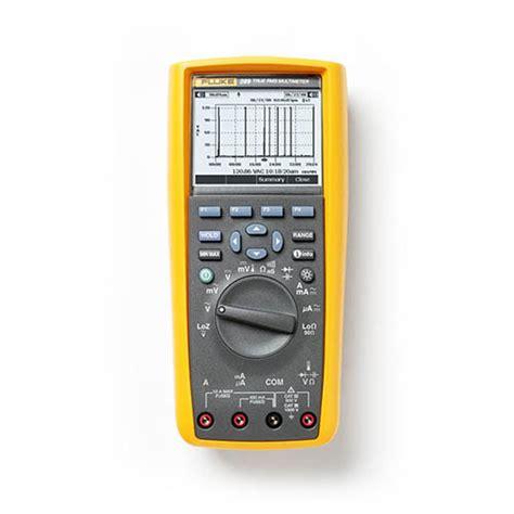 Multimeter Fluke 289 Fluke 289 True Rms Electronics Logging Digital Multimeter With Trendcapture At The Test
