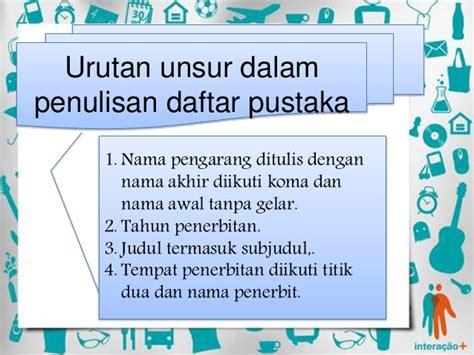 penulisan daftar pustaka farmakope indonesia penulisan daftar pustaka bahasa indonesia