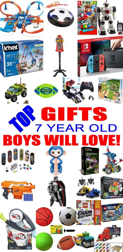 christmas gifts for 7 year old boys best gifts for 7 year boys top birthday ideas gifts gifts