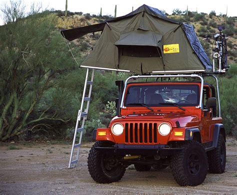 Tent For Jeep Wrangler Unlimited Jeep Cing Gear Jpfreek Adventure Magazine