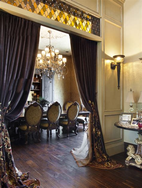 elegant curtains for dining room create an elegant dining room with 3 easy steps from the