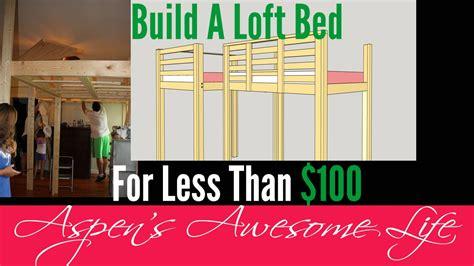 diy loft bed    budget  buy    diy