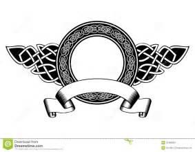 celtic frame stock image image 31468061