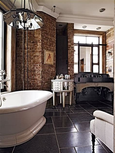 brick bathroom brick wall in the bathroom the loo pinterest