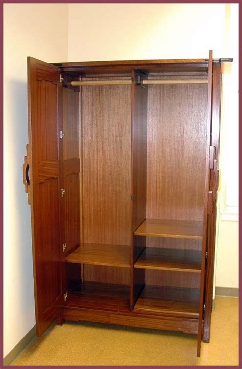 wardrobe or armoire voorhees craftsman mission oak furniture item