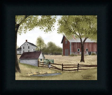 house prints the old springhouse country americana farm house framed art print d 233 cor 8x10 ebay