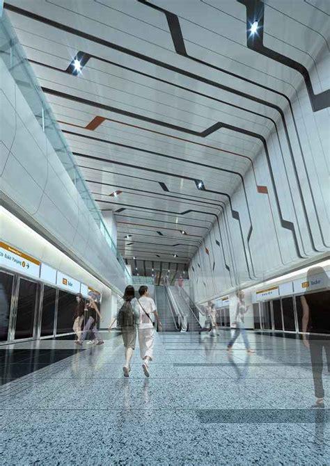 rochor mrt station singapore mass rapid transit  architect