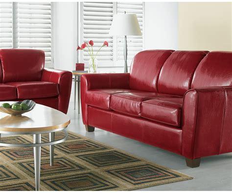 double leather sofa bed tina leather double sofa bed decorium furniture