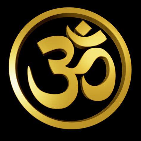 om logo in om symbol 3d model