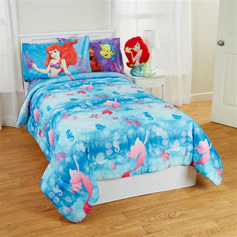 little mermaid twin comforter set little mermaid bedding set full size bedding sets