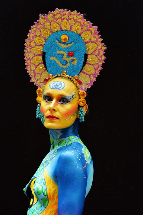 festival in portschach the 16th world bodypainting festival