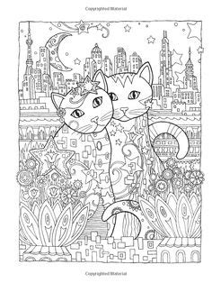 intricate cat coloring page 1000 images about intricate coloring on pinterest dover