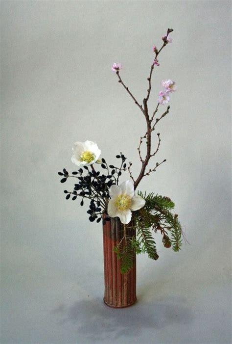 Japanese Decorative Of Flower Arrangement by