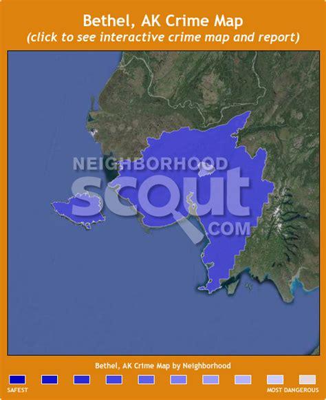 bethel alaska usa map bethel ak crime rates and statistics neighborhoodscout