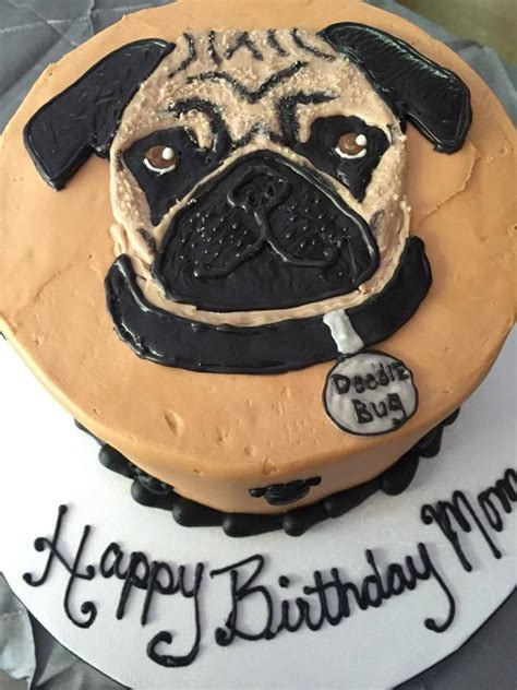 pug cake decorations 25 best ideas about pug cake on pug birthday cake pug cupcakes and cakes