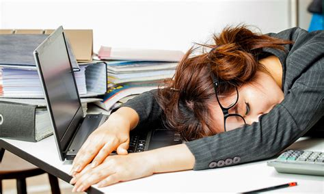 position au bureau your employees are falling asleep on the human